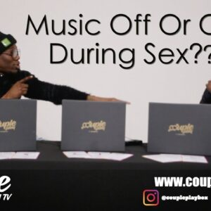 Is there a Stigma around Male Sex Toys, Music On or Off During Sex,  || Cherry On Top Podcast EP 8